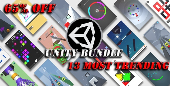 13 Most Trending Unity Games Sale - 65% OFF - CodeCanyon Item for Sale