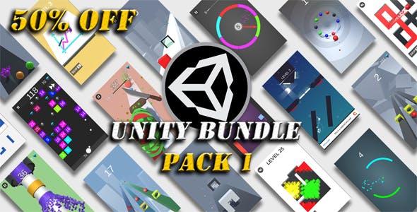 Unity Games Bundle Pack 1 - 50% OFF