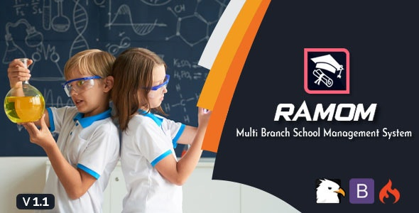 Ramom - Multi Branch School Management System - CodeCanyon Item for Sale