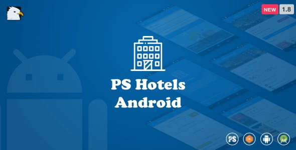 Hotels Android App With Material Design & PHP Backend (V1.8)