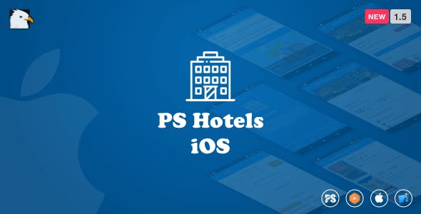 PSHotels iOS (Ultimate Hotels Finder Application With Backend) 1.5