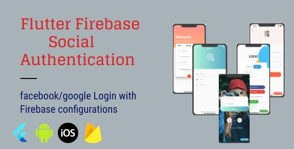 Flutter Firebase Social Authentication