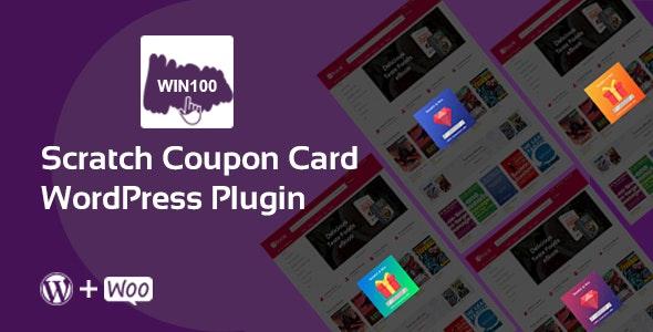 Scratch Coupon Card WordPress plugin