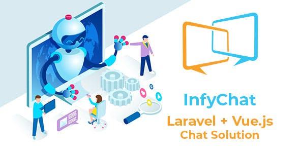 InfyChat - Laravel VueJS Chat App