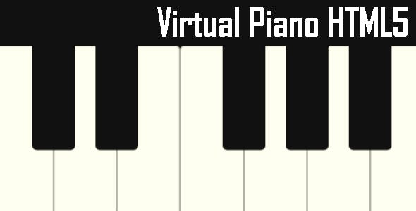 Virtual Piano - HTML5 Game HTML5 Website