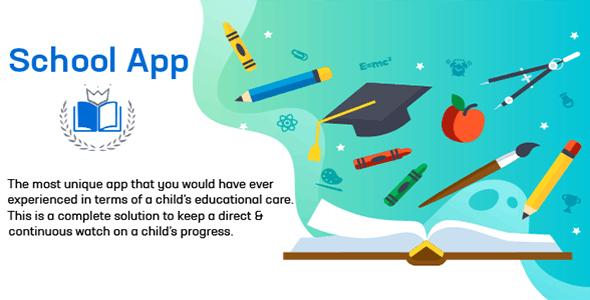 School App - School Management System - iOS