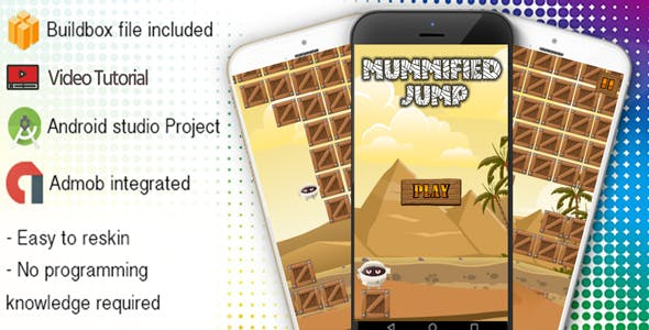 Mummified Jump Buildbox Template With Admob