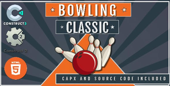 Bowling Classic - Construct 2 Game + CAPX