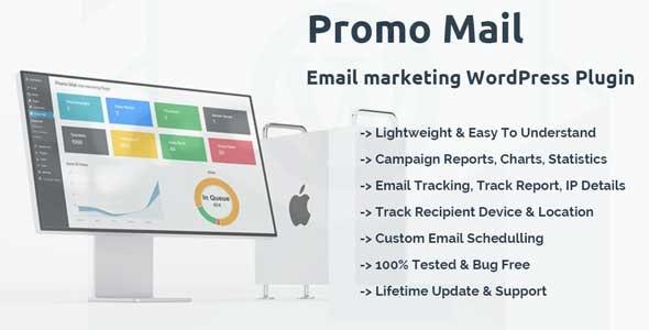 Promo Mail - Email Marketing WordPress Plugin - CodeCanyon Item for Sale