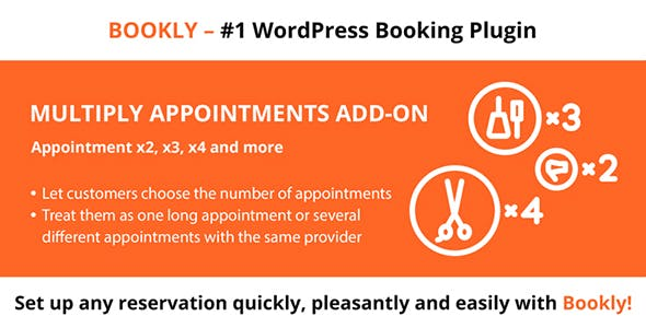 Bookly Multiply Appointments (Add-on)