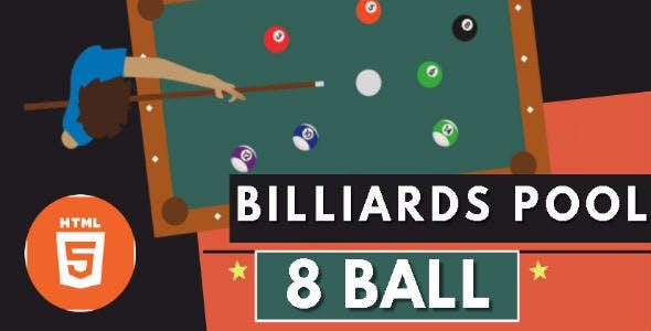 Billiards Pool 8 Ball 2022 - HTML5 Game - HTML5 Website
