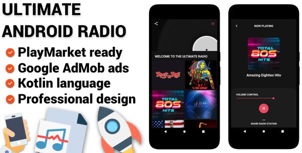 Ultimate Android Online Radio Application