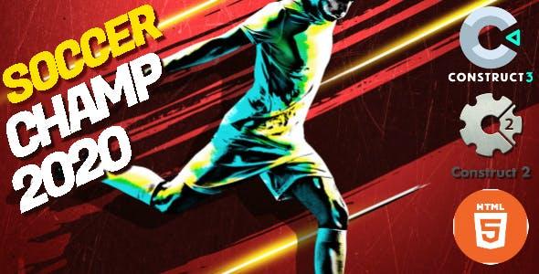 Soccer Champ 2020 HTML5 Game - HTML5 Website