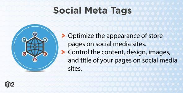 Magento 2 Social Meta Tags