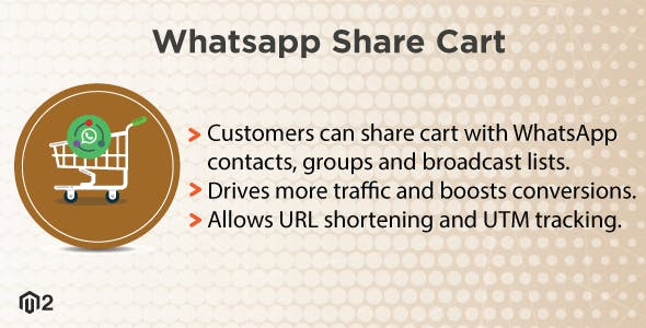Magento 2 WhatsApp Share Cart