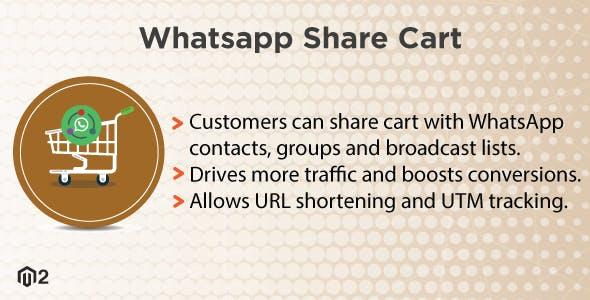 Magento 2 WhatsApp Share Cart