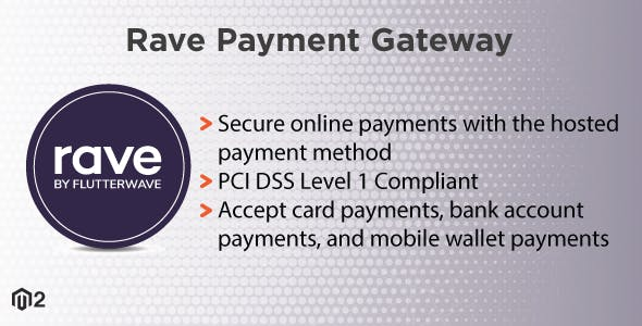Magento 2 Rave Payment Gateway