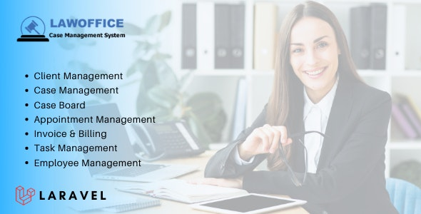 LawOffice - Case Management System for Lawyer - CodeCanyon Item for Sale