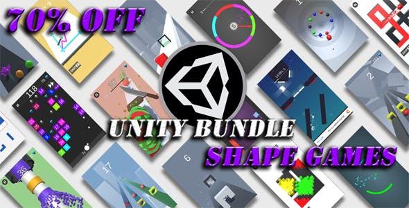 Unity Shape Games Bundle - 70% OFF