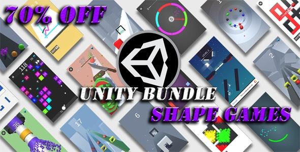 Unity Shape Games Bundle - 70% OFF - CodeCanyon Item for Sale