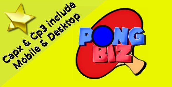 Pong Biz | HTML5 Game (capx+cp3)