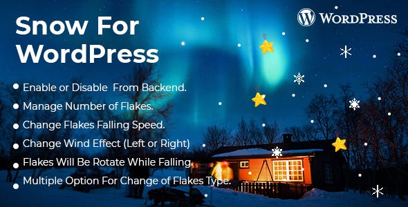 Snow Effect WordPress Plugin