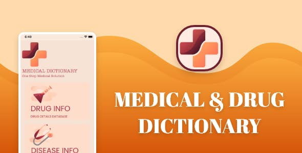 Medical Dictionary - ios source code