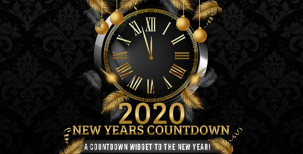 New Years Countdown HTML5