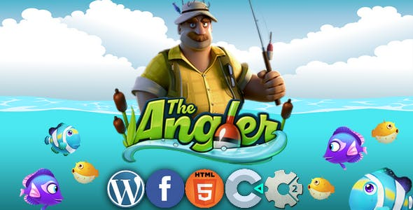 Angler - html 5 game, capx construct 2/3