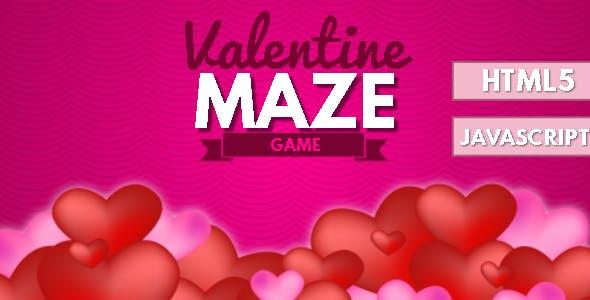 Valentine Maze HTML5 Game - HTML5 Website
