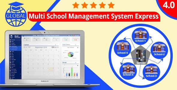 Global - Multi School Management System Express