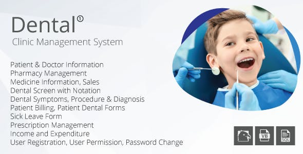 Dental Care Management System (VB.NET, SQL Server, MS Report Viewer)