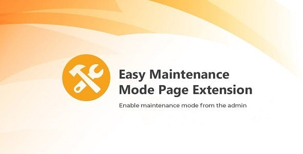 Magento 2 Easy Maintenance Mode Extension