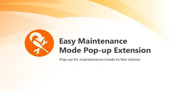 Magento 2 Easy Front End Upcoming Maintenance Alert Extension