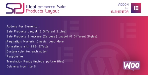 WooCommerce Sale Products Layout for Elementor WordPress Plugin - CodeCanyon Item for Sale