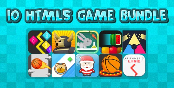 10 HTML5 GAMES IN 1 BUNDLE+ Mobile Version!!! BUNDLE №2 (Construct 3 / Construct 2 / CAPX)
