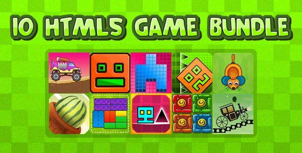 10 HTML5 GAMES IN 1 BUNDLE+ Mobile Version!!! BUNDLE №1 (Construct 3 / Construct 2 / CAPX)