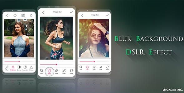 Blur Image Background - DSLR Photo Effect