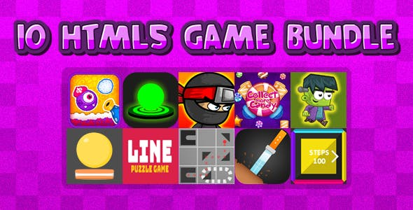 10 HTML5 GAMES IN 1 BUNDLE+ Mobile Version!!! BUNDLE №3 (Construct 3 / Construct 2 / CAPX)