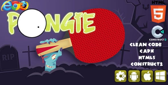 Pongie - Html5 Game (CAPX)