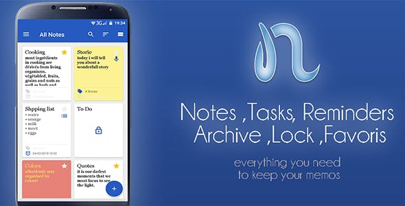 My Notes - Android Notepad Application