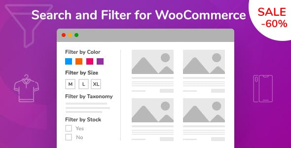 Search and Filter for WooCommerce