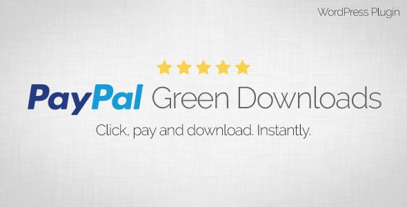 PayPal Green Downloads - WordPress Plugin - CodeCanyon Item for Sale