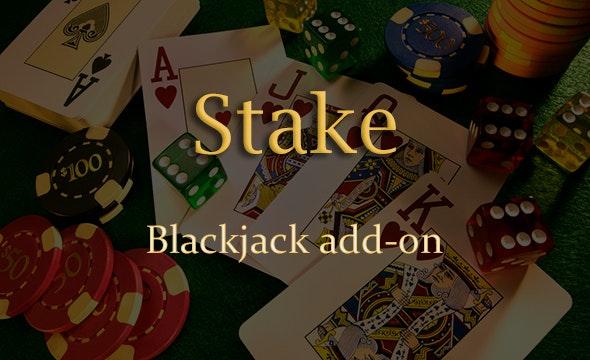 Blackjack Add-on for Stake Casino Gaming Platform