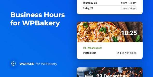 Business Hours for WPBakery – Worker