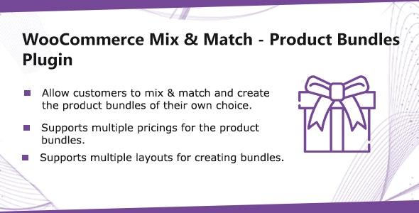 WooCommerce Mix & Match - Product Bundles Plugin - CodeCanyon Item for Sale
