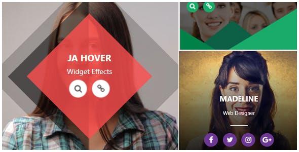 Ja Hover Widget Effect