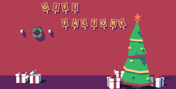 Gift Factory - HTML5 Game - CodeCanyon Item for Sale