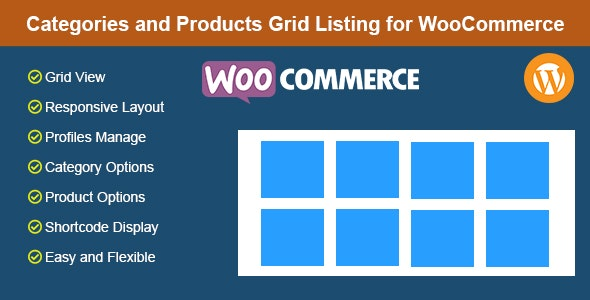 Categories and Products Grid Listing for WooCommerce - CodeCanyon Item for Sale