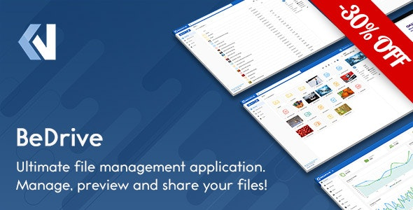 BeDrive - File Sharing and Cloud Storage - CodeCanyon Item for Sale